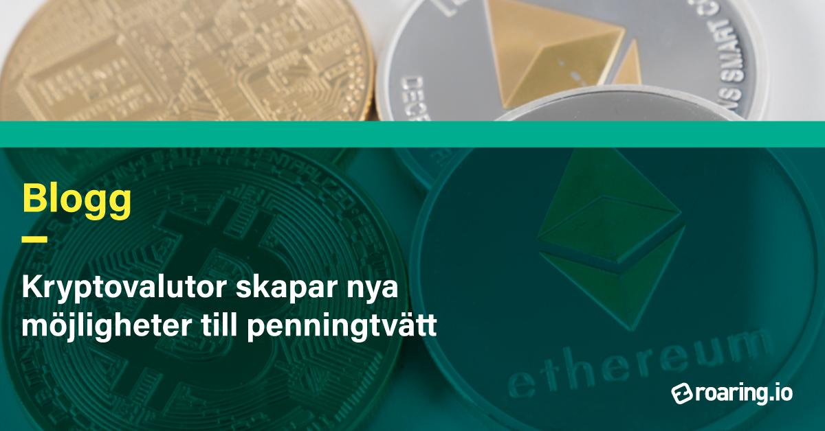 kryptovalutor penningtvätt